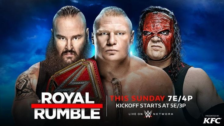 The kickoff show will last two hours and will be broadcast on WWE Network   WWE has informed through an official statement the schedules of Royal Rumble, an event that will take place this Sunday from the Wells Fargo Center in Philadelphia, Pennsylvania.  It has been confirmed that the kickoff will last two hours and start at 5 ET.   ##WWE #Kickoff #RoyalRumble #RoyalRumble2018