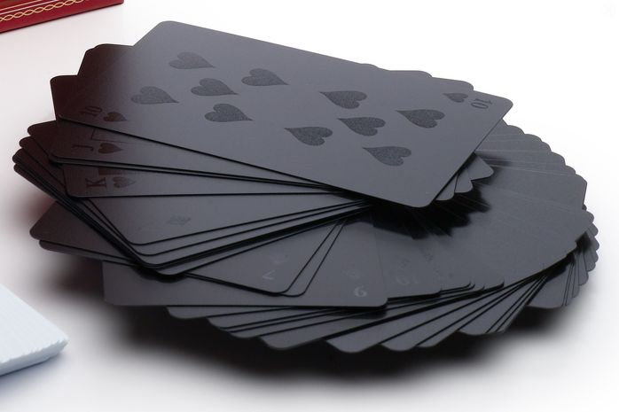 Designer Black Playing Cards Cool gadgets for Men - black-playing-cards – Cool Quirks Gadgets and Gifts for Men