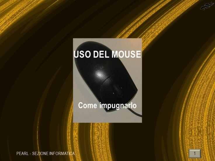 INFORMATICA - Alfabetizzazione >   Come impugnare il mouse