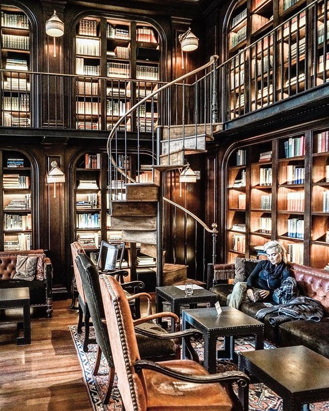 The Library at The NoMad Hotel New York - by @zioandsons