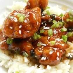 General Tsao's Chicken II - once I converted the ingredients into metric system it was quite easy and sooooo yummy :)