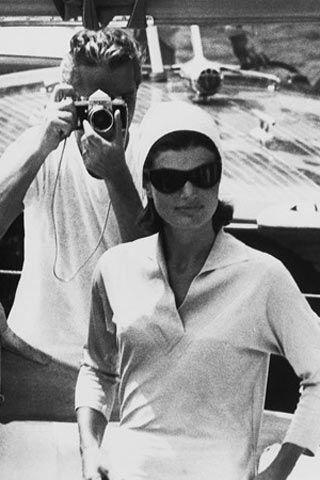 Jackie Kennedy and Benno Graziani