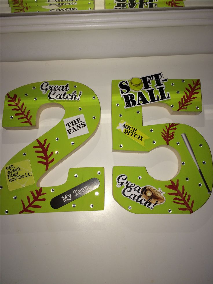 softball craft ideas best 25 softball decorations ideas on 2968