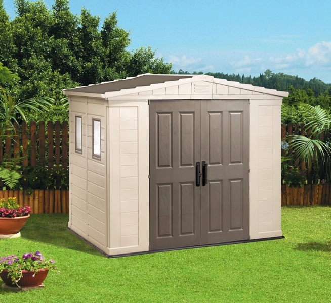 outdoor apex resin apex 8x6 keter apex garden storage storage sheds