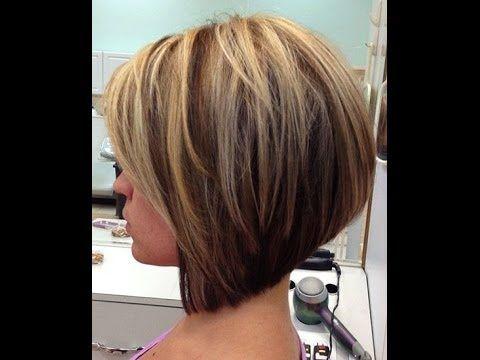 How to cut a Layered Bob  Haircut  Tutorial Step by Step