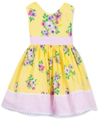 4d46f3add7f3c Little Girls Floral-Print Dress | for our little fashionista ...