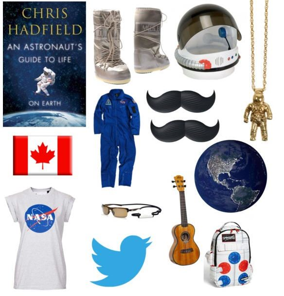 Become Chris Hadfield for a day this #Halloween