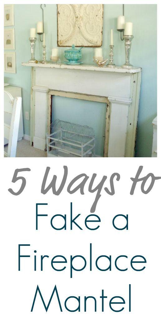 5 Ways to Fake a Fireplace