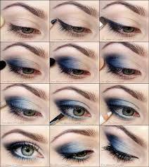 повседневный макияж для голубых глаз пошагово - Поиск в Google
