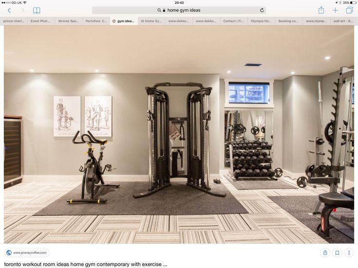 Die besten 25+ Fitnessraum zu hause Ideen auf Pinterest - ideen heim fitnessstudio einrichten