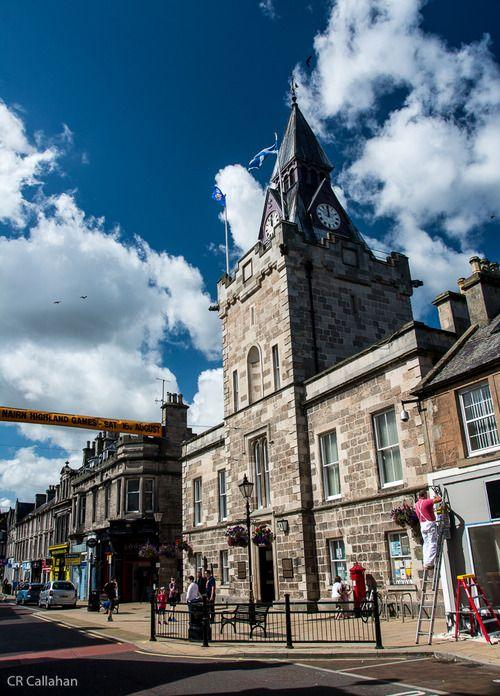 Downtown. Nairn, Scotland