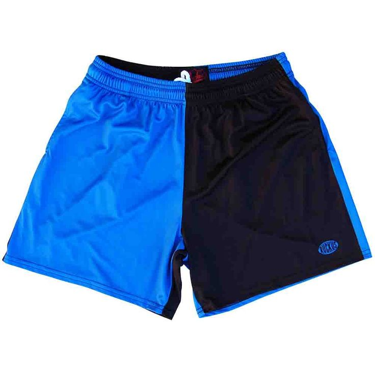 Royal and Black Rugby Shorts