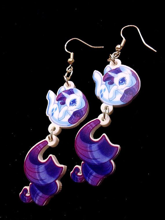 my pony earrings my pony rarity earrings for sale for sale 597