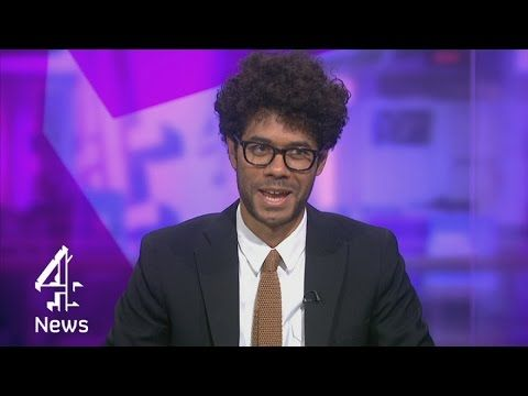 """Richard Ayoade Politely Destroyed The Media Interview Process On """"Channel 4 News"""" Last Night"""