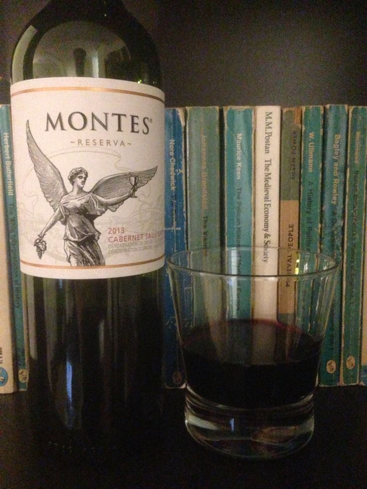 Montes Reserva 2013 | cabernet sauvignon | chile | 4.00 stars | just the right among of sweetness