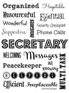 Secretary Appreciation Quotes. QuotesGram