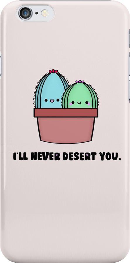 Cactus Cell Phone Case, Cactus pun, succulent pun, cute cactus, love pun, kawaii