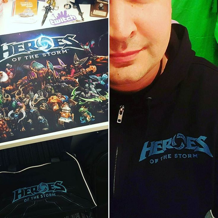 It ended up being a Heroes of the Storm birthday haha. Went from no HotS gear to a ton of new stuff. Hoodie travel bag and a desk mat. Thanks everyone!  #overwatch #blizzard #worldofwarcraft #wow #heroes #heroesofthestorm #overwatchgame #overwatchlucio #lucio #diablo #diablo3