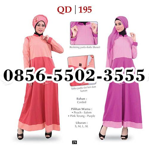 Gamis Qirani model 138, HP.0856-5502-3555,