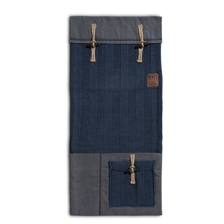 Pocket - 6x6Rib jeans by Knit Factory www.knitfactory.nl