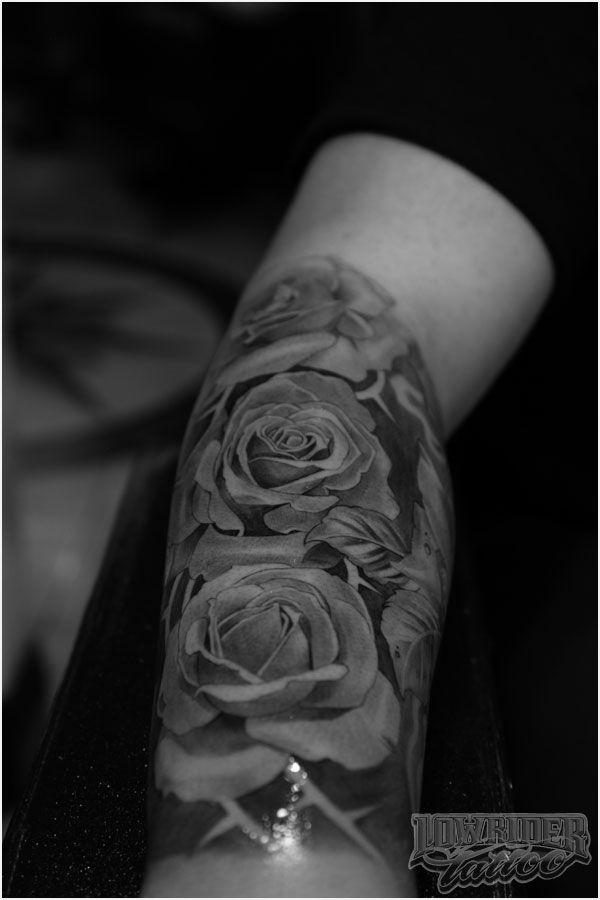 lil b hernandez tattoo | lil-b-roses