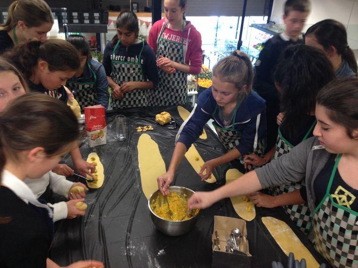 Creating ravioli
