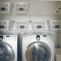 our house: the laundry room/mud room