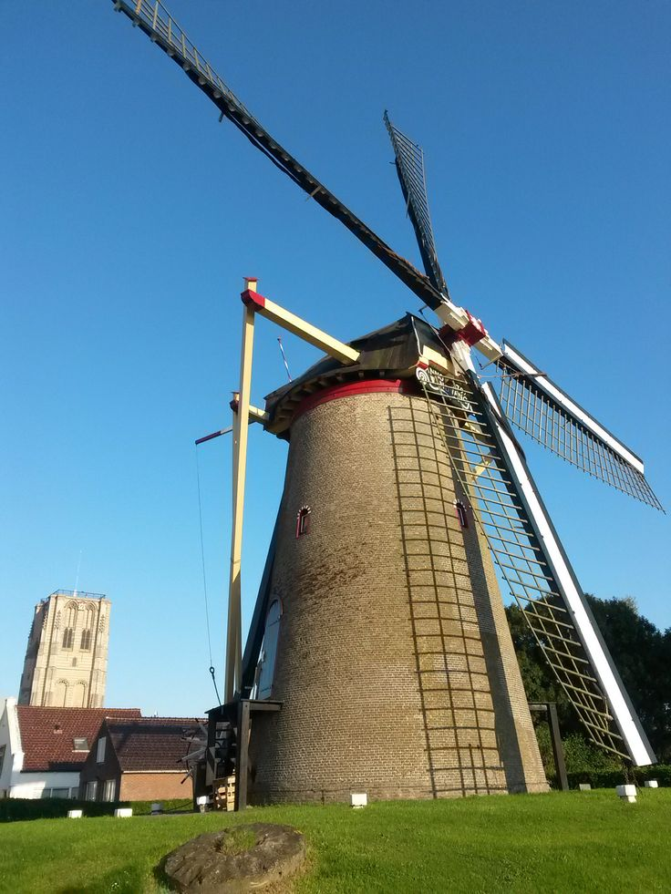 Windmill at Goedereede (Zuid-Holland) #netherlands