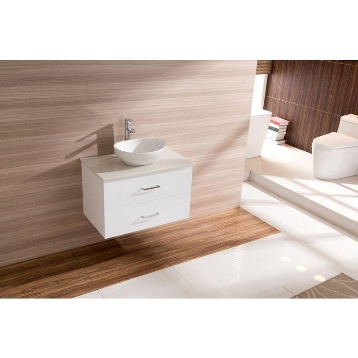 Modern Ceramic Stone Bathroom Basin & Vanity White | Buy Bathroom Vanities