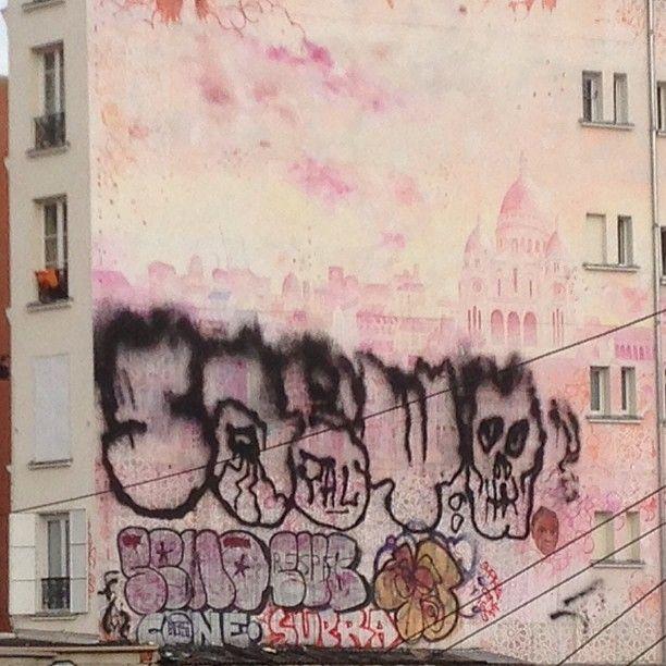 #paris  #graffiti  #pal  #saeyo  #extinguisher   OnInStagram