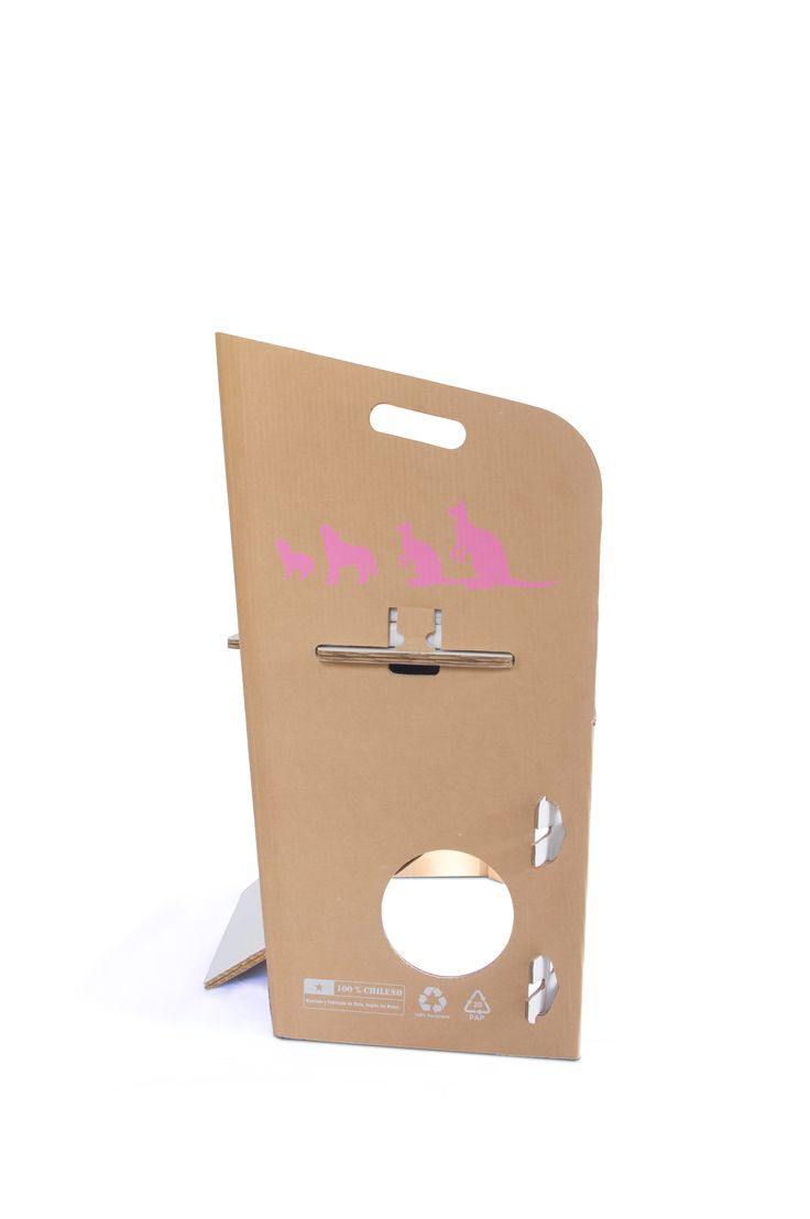 Cuna EcoLecho 100% chilena y 100% reciclable.  Simple, liviana, segura y eco amigable.