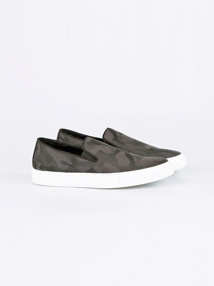 JOSHUA SANDERS , Black Camo Erkek Ayakkabı #shopigo#shopigono17#menswear#sneakers