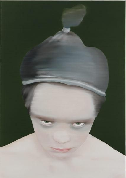untitled *(210086), 210x150 cm, 2008, rebel and saint (2008)
