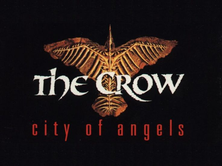 The crow city of angels logo - photo#4