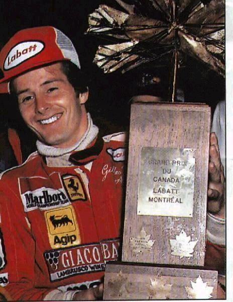 8 octobre 1978 Gilles Villeneuve remporte le Grand Prix du Canada sur l'Île Notre-Dame