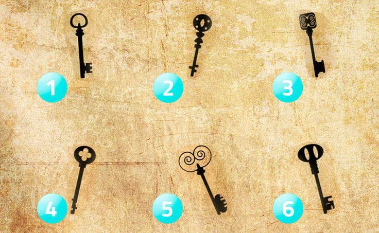 ¿Con qué llave abrirías un baúl antiguo? Esto dice más sobre ti de lo que piensas…