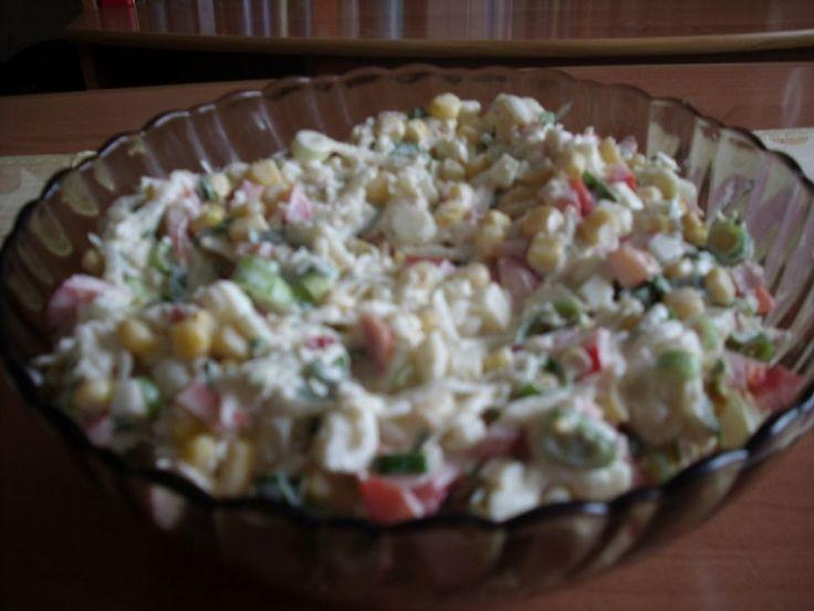 Sałatka z białej rzepy