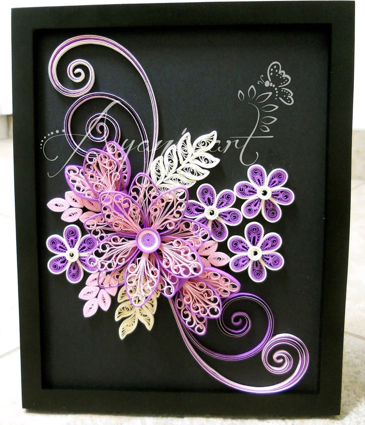 Ayani art quilling patterns designs pinterest for Quilling patterns