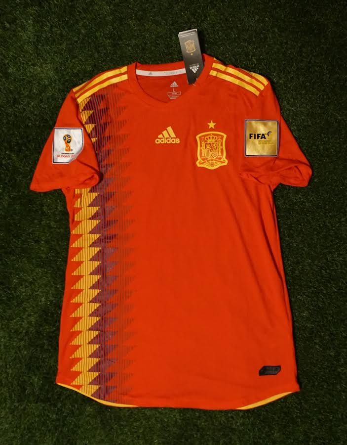 c9f8a874f Spain Player Version Shirt - FIFA World Cup 2018