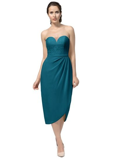e0fc1779a4 Shop Azazie Bridesmaid Dress - Etta in Chiffon. Find the perfect  made-to-order bridesmaid dresses for your bridal party in your favorite  color