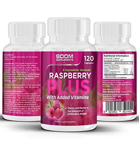 Cétones de framboises Résistance maximale | 120 capsules de perte de poids sauvages et puissants | wild raspberry ketone | full…