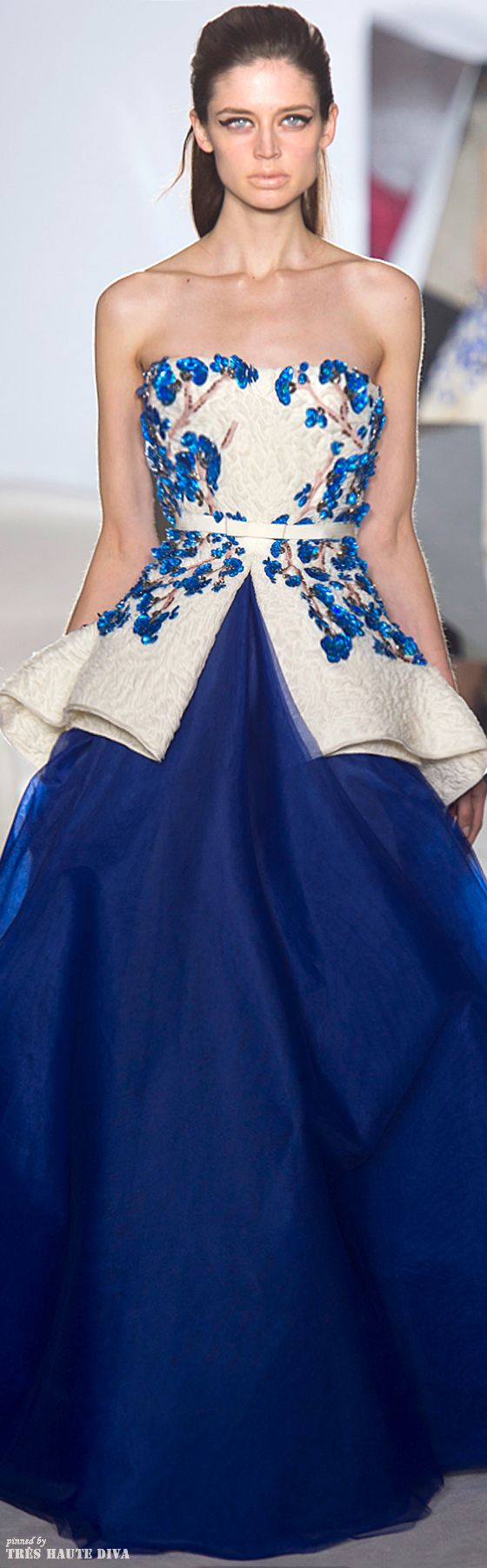 Giambattista Valli Spring 2014 Couture    The House of Beccaria