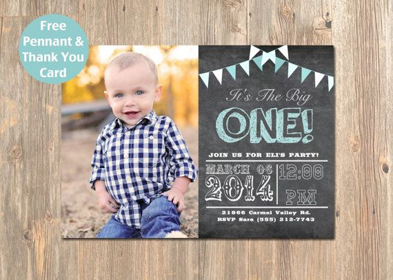 Printable Birthday Invitations For Boy ~ Best chalkboard birthday baby shower invitations save the