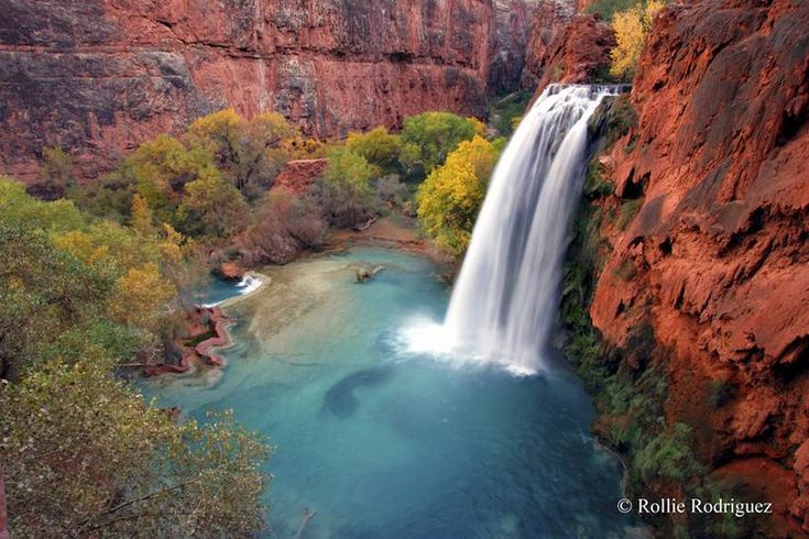 Photo: Grand Canyon's Havasu Falls are a picture of paradise #photography #photo http://www.treehugger.com/slideshows/readers-photos/photo-grand-canyons-havasu-falls-are-picture-paradise/