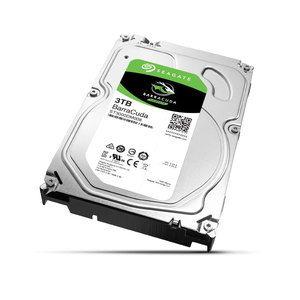 """Disque dur interne Seagate BarraCuda 3 To (ST3000DM008) Disque dur 3.5"""" 3 To 7200 RPM 64 Mo Serial ATA 6 Gb/s"""
