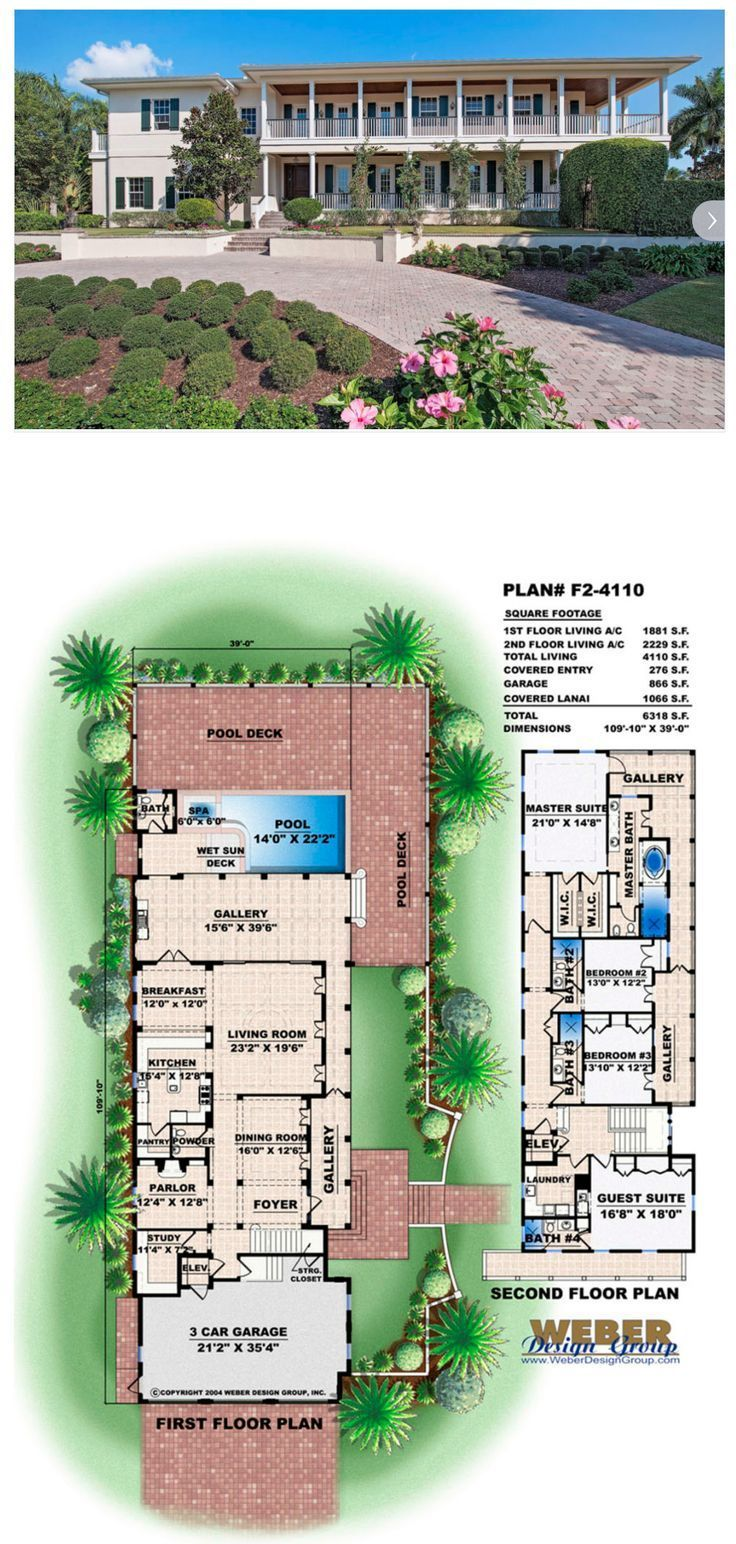west indies house plan 2 story plantation style home floor plan