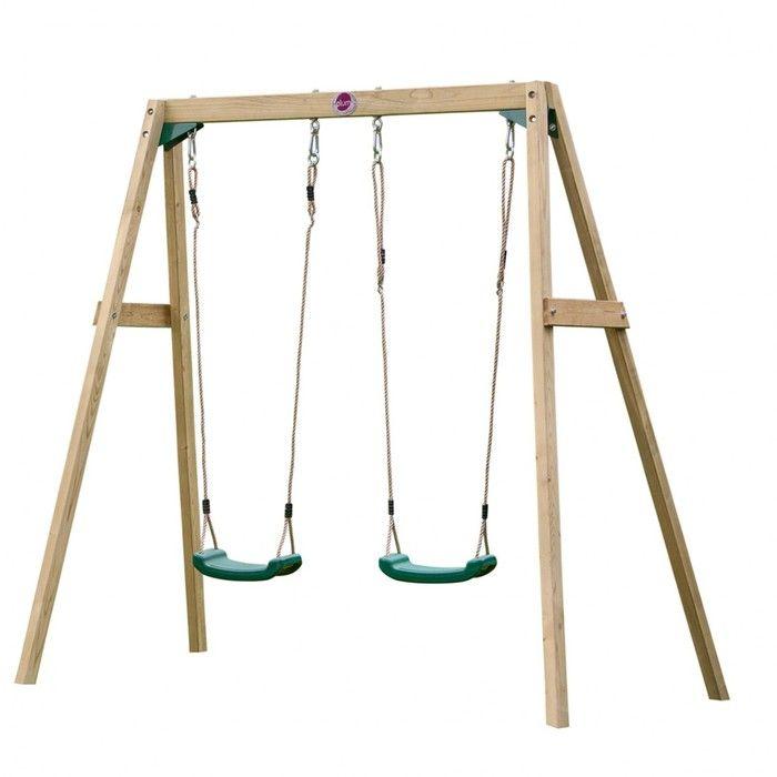Plum Wooden Double Swing. Available at Kids Mega Mart online Shop Australia