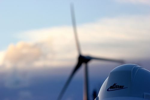 Enercon Wind Turbine / NuStar Terminal (Point Tupper, Nova Scotia, Canada)