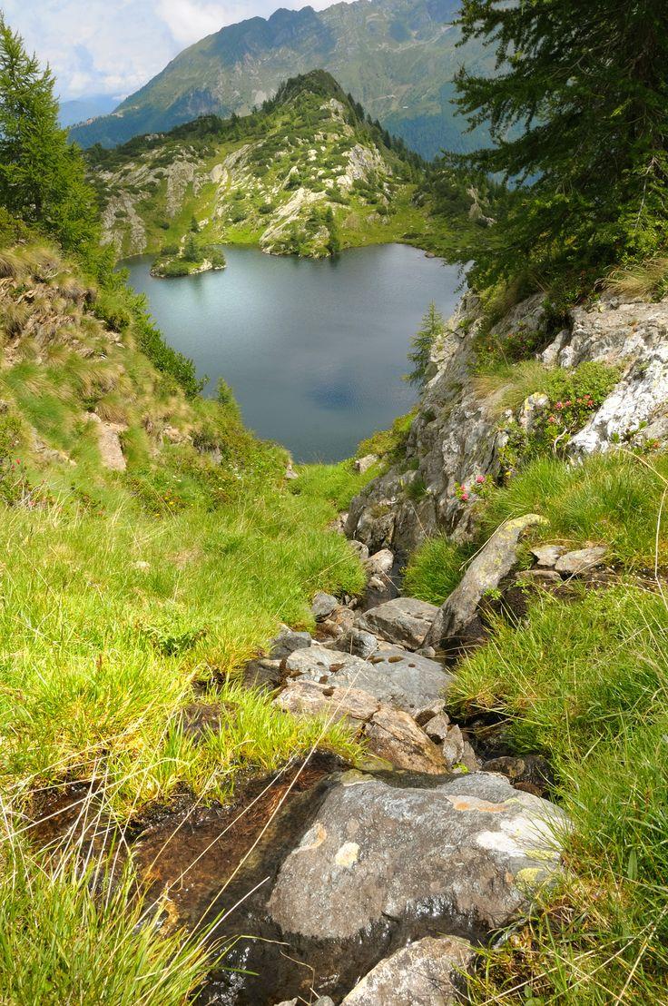 Lago Nero - Aprica, Val Belviso (SO)  #trekking #landscape #valtellina #montagna #paesaggi
