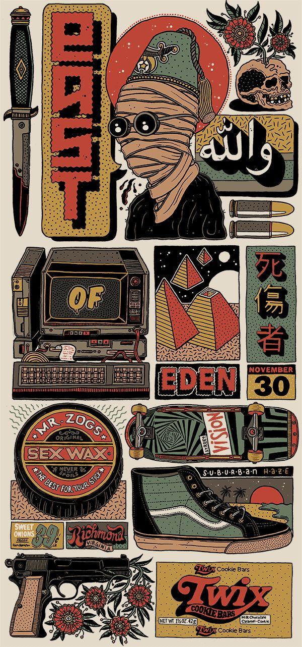 Illustration | -::[robot:mafia]::- .ılılı. die kunst ist tot ★ es leben die maschinen .ılılı.